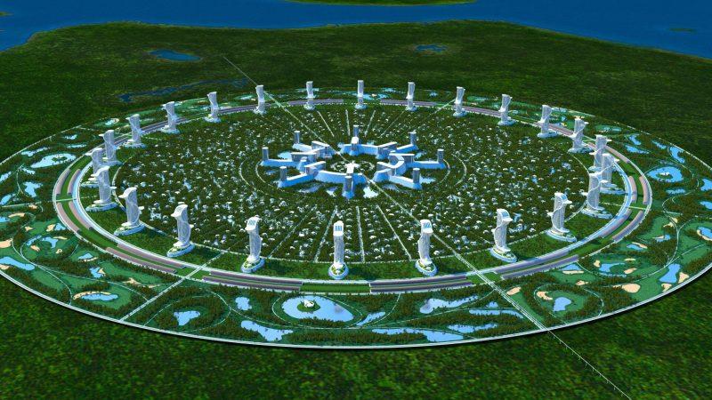 Город будущего - проект Венера