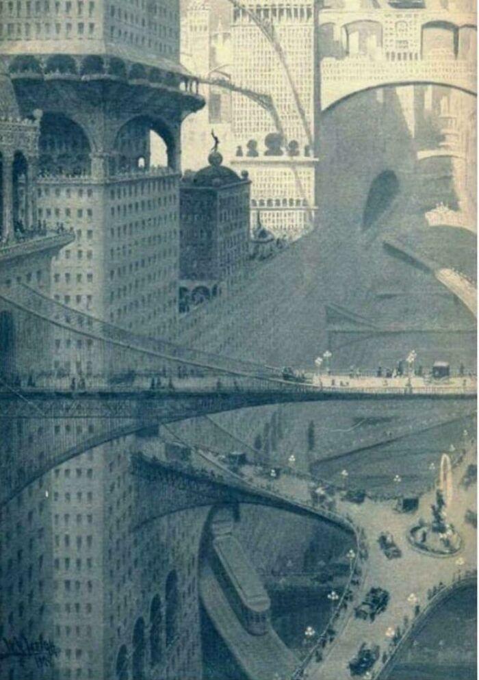 Город Будущего с точки зрения тех, кто жил в 1908 году