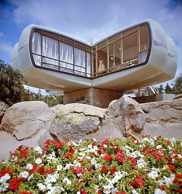 Модульные дома. Разработка 1957 года