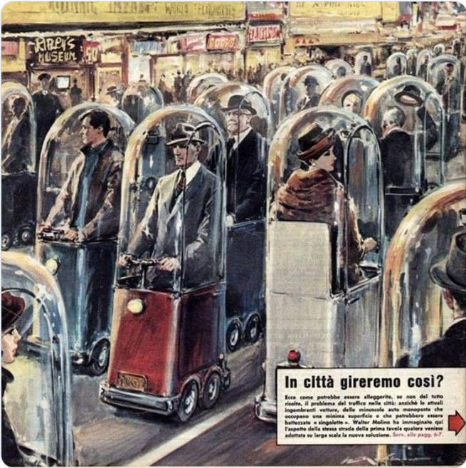 Индивидуальные герметичные транспортные средства из 1962 года