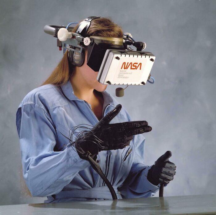 VR от NASA. Разработка 1989 года