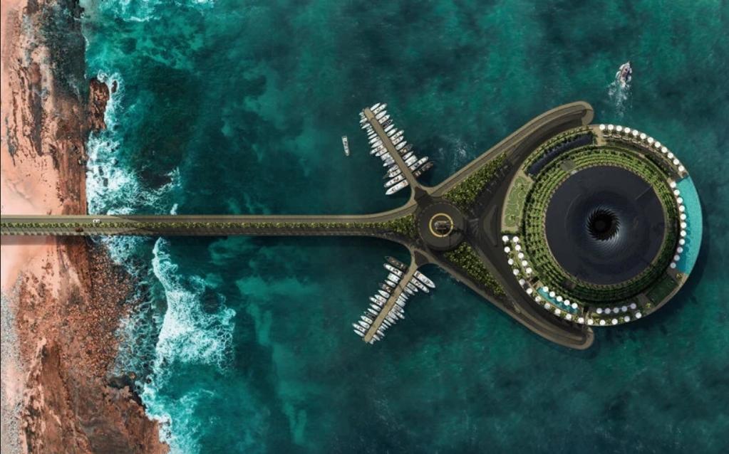 Вращающийся эко-отель в Катаре